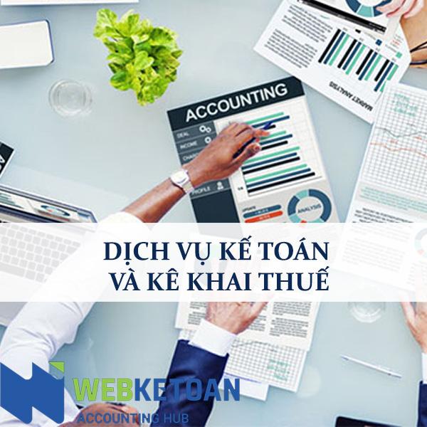 Dịch vụ kế toán và Kê khai thuế