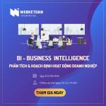 BI – Phân tích & hoạch định hoạt động DN